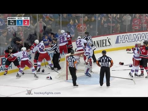 Blake Coleman vs. Jimmy Vesey