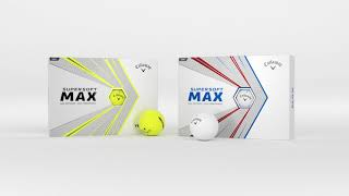 Supersoft MAX | Easy Distance From Max Forgiveness, and Super Soft Feel