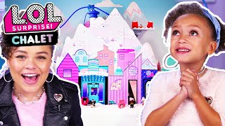 UNBOXED!   LOL Surprise! Winter Disco Chalet   Season 4 Episode 15