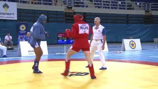 Unbeliveable Fight! Combat Sambo RUS ws UKR. European Sambo Championships 2018 in Greece