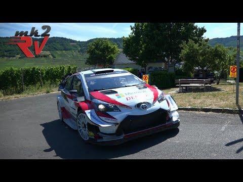 Ott Tänak Latvala Toyota Yaris WRC Rallye Deutschland 2019 Test