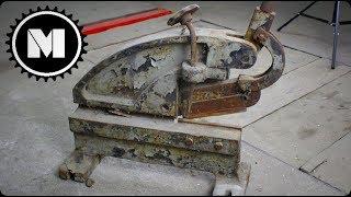 Lever shears - Restoration