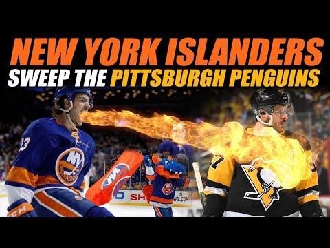 New York Islanders Sweep the Penguins!