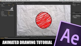 After Effects Tutorial: Animated Drawing