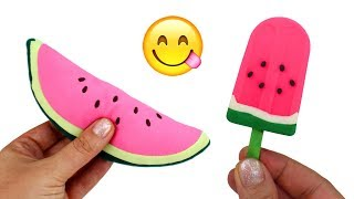 Learn Fruits Play Doh Ice Cream Bars Fruit Toys Learn Colors Creative Play for Kids