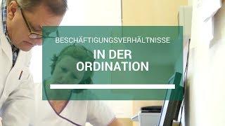 Beschäftigungsverhältnisse in der Ordination