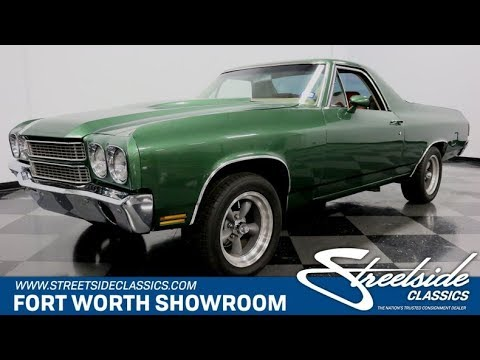 Video of 1970 Chevrolet El Camino located in Ft Worth Texas - $24,995.00 - Q9DT