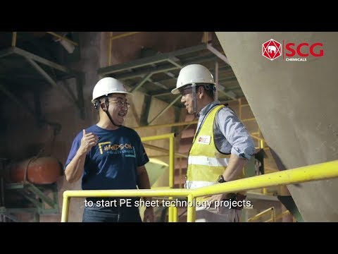 "The Power of Collaboration Solving hopper clogging in cement manufacturing with ""PE sheets"""