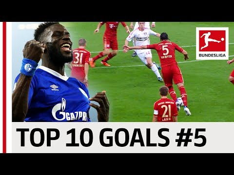 Top 10 Best Goals - Players with Jersey Number 5