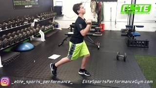 Youth Athlete Mastering Technique