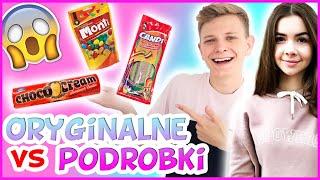 ORYGINALNE VS PODRÓBKA CHALLENGE😱 - Słodkości #13 | Dominik Rupiński & Kompleksiara