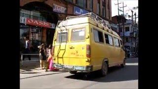2014-10-17 Another taxi ride, Kathmandu