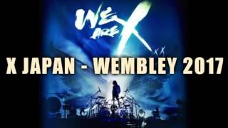 X JAPAN live WEMBLEY 2017 - 05. SUGIZO homage to David BOWIE