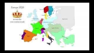 Moti europei dal 1820 al 1825