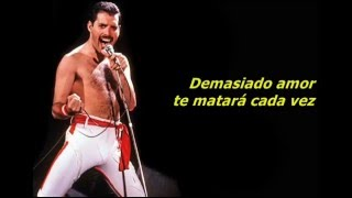 Queen - Too Much Love Will Kill You (Español/Inglés)