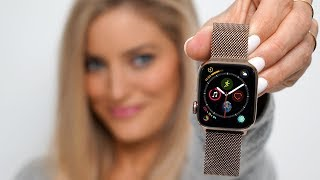 GoldAppleWatchSeries4-Unboxingandreview!