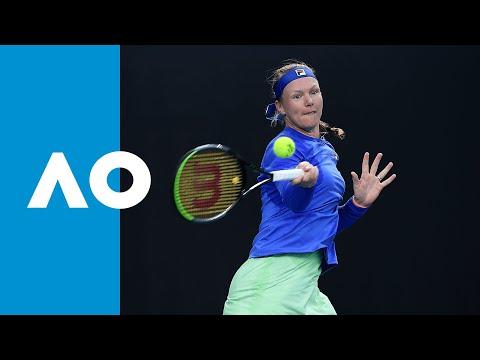 Irina-Camelia Begu v Kiki Bertens match highlights (1R) | Australian Open 2020