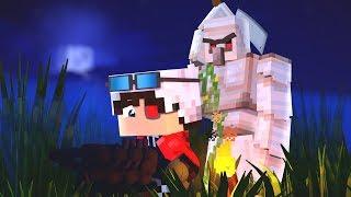 МЫ С ДРУЗЬЯМИ ПОПАЛИ В БЕДУ! МАНЬЯК ИДЕТ ЗА НАМИ! Minecraft