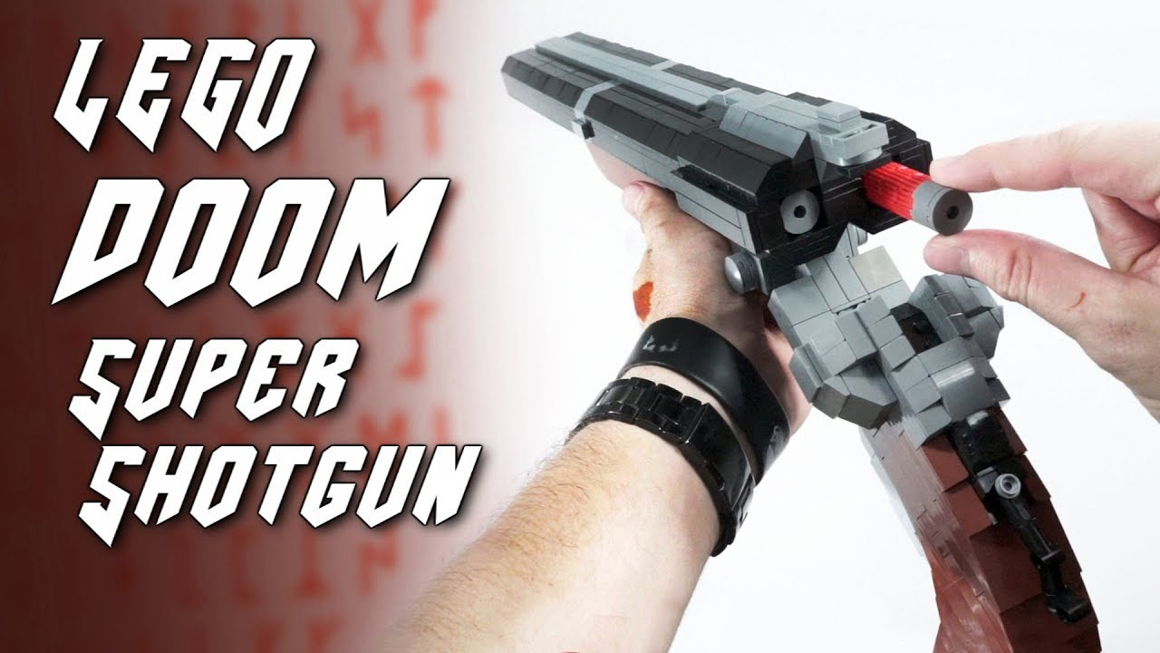 DOOM: LEGO Super Shotgun (Double-Barrel)