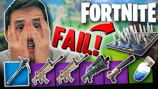 THE BIGGEST FAIL EVER! - Fortnite Battle Royale