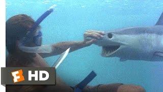The Beach (3/5) Movie CLIP - A Shark Tale (2000) HD