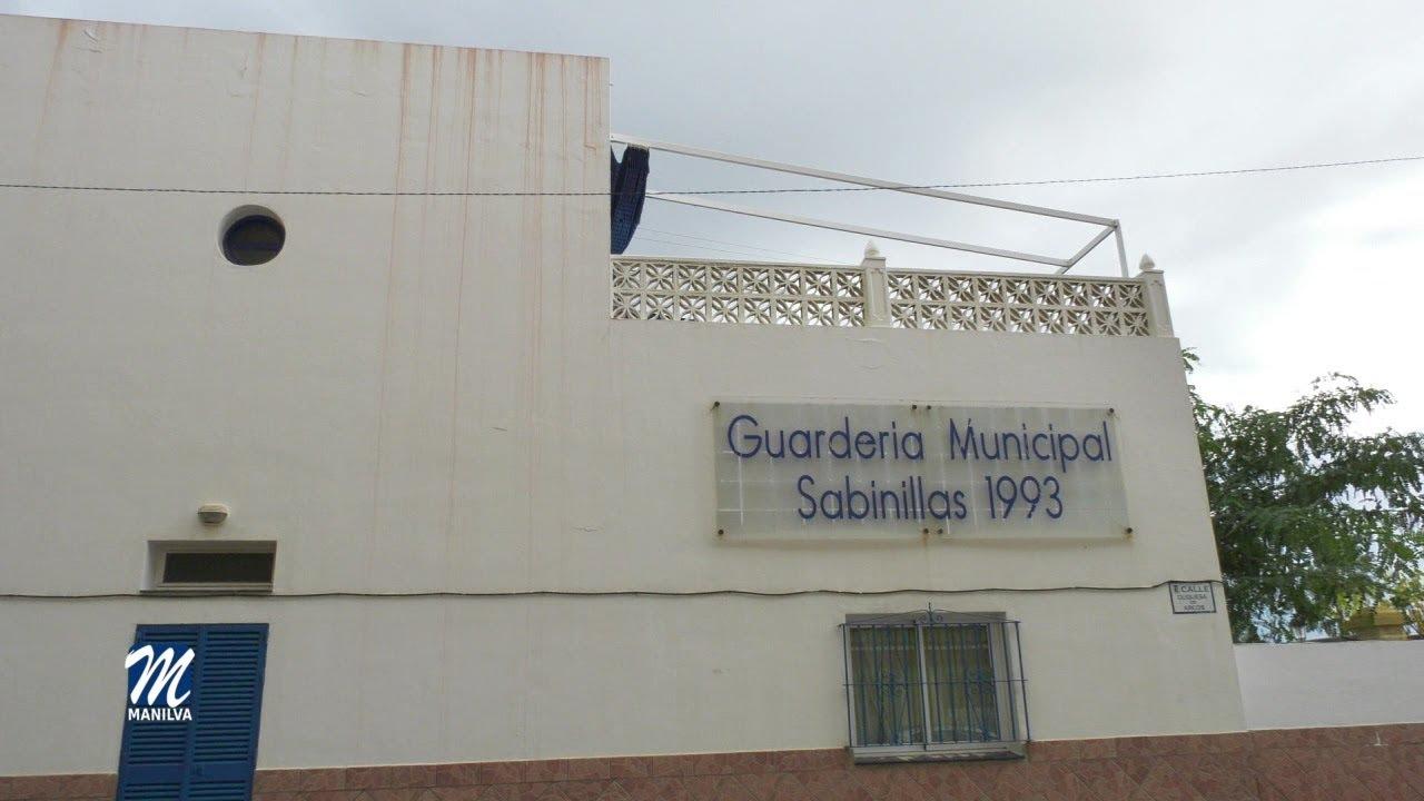 LA CÚPULA DE LA GUARDERÍA DE SABINILLAS SERÁ REPARARA