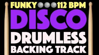 Funk Disco Drumless Backing Track For Drums