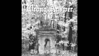 Gambar cover Wrong Answer - The World Is Empty (Full Album)