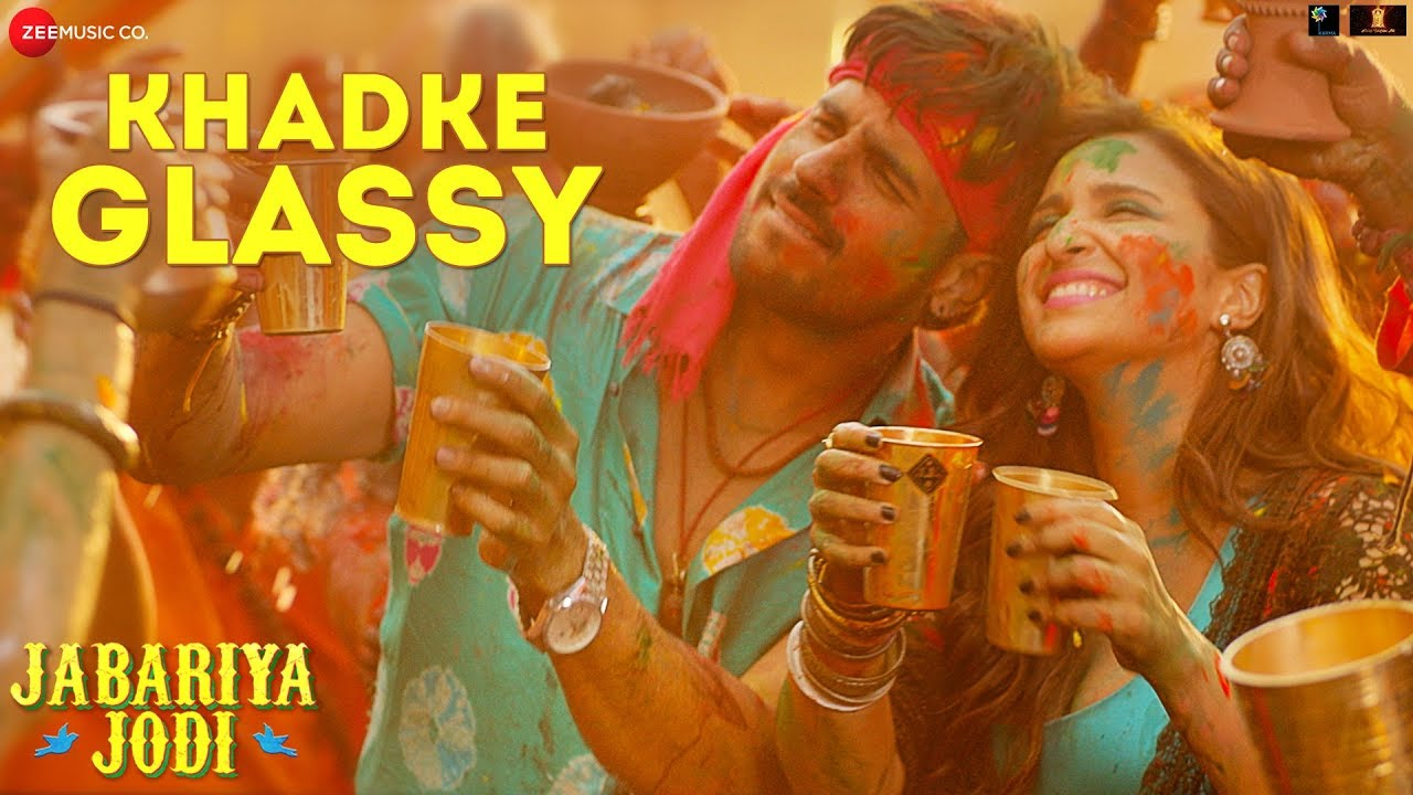 Khadke Glassy Lyrics - Jabariya Jodi Full Song Lyrics | Sidharth M,Yo Yo Honey Singh - Lyricworld