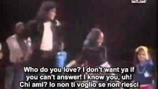 Michael Jackson - Behind The Mask with lyrics & sub ita.avi