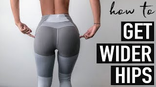 Best Exercises To Grow The SIDE BOOTY // WIDER HIPS Workout ─ Get Rid Of Hip Dips!