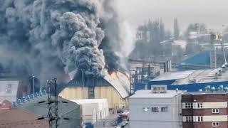Pożar w Porcie Gdynia, Fire in Port Gdynia