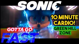 Sonic the Hedgehog 10 Minute Cardio Workout   Green Hill Theme