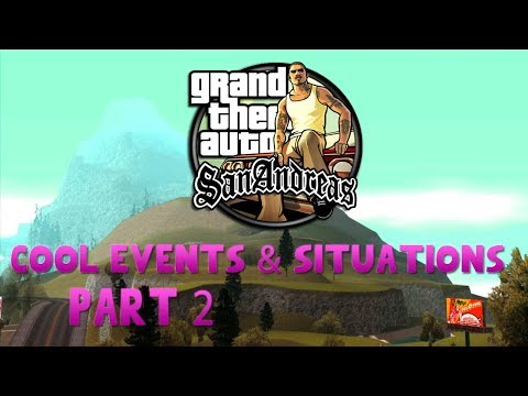 GTA San Andreas Cool Events And Situation Mods Part.2