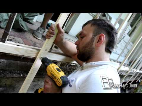 Максимус окна - технология внешней отделки балкона 6 метров пластиковым сайдингом