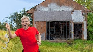 FREE FROM GAME MASTER TOP SECRET ABANDONED ESCAPE ROOM PRISON!! (Chad Wild Clay Mystery Clues Found)