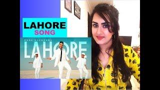 LAHORE (Official Video) | Guru Randhawa | Bhushan Kumar | Vee | DirectorGifty | T Series | REACTION|