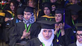 9cff1a5a2 حفل تخريج طالبات كليات الطب بجامعة الفيصل بالرياض - قناة المميز