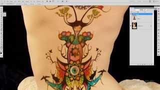Tutorial Tatuajes en photoshop.