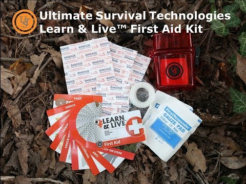 Ultimate Survival Technologies (UST) Learn & Live™ First Aid Kit Review