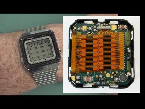 EEVblog #1166 - Amazing 1980's Touch Screen Calculator Watch!