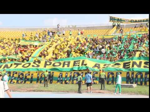 """""""Salida Vs Quindio  - Cuadrangulares 2016"""" Barra: Rebelión Auriverde Norte • Club: Real Cartagena"""