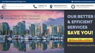 Finex Forex Services | Vancouver Currency Exchange