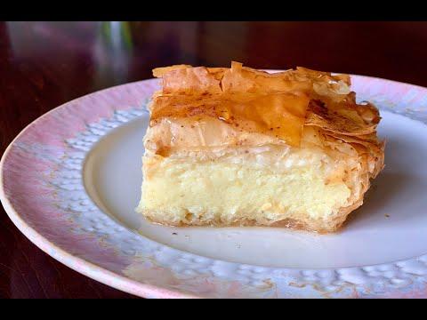 Galaktoboureko Greek Custard Dessert | Christine Cushing