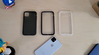 Best Clear Cases for iPhone 11: Hummixx Clear Shell...