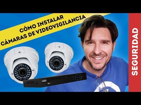 CÓMO INSTALAR CÁMARAS DE VIDEOVIGILANCIA CCTV HDCVI DVR