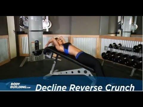Decline Reverse Crunch - Ab Exercise - Bodybuilding.com