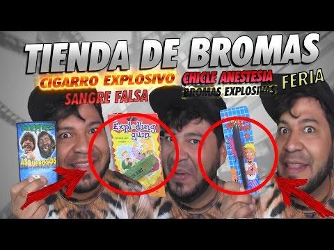 TIENDITA DE BROMAS | BROMAS EXPLOSIVAS