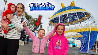 WinterFest 2019! Trinity Rides Roller Coaster That Breaks Down!!!