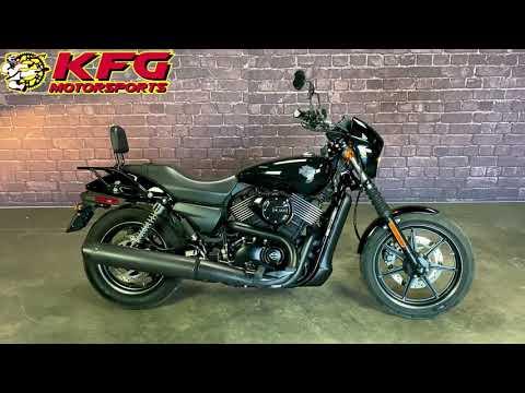 2015 Harley-Davidson Street™ 750 in Auburn, Washington - Video 1